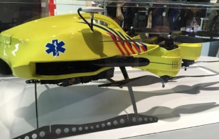 «Drone ambulância» promete salvar mais vidas