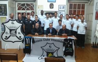 GCV apresenta as equipas Seniores Masculina e Feminina de Voleibol