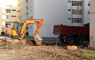 Requalificação dos espaços exteriores da urbanização Sopete