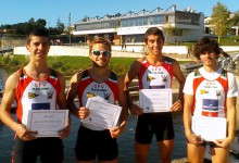 CFV em 2.º lugar na Regata Aerobic Monsters