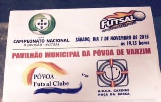ADCR Caxinas acusa Póvoa Futsal de cobrar bilhetes acima da lei