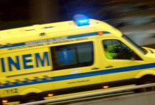 Jovem fica em coma na sequência de acidente na A28