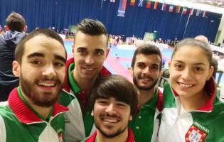 Karatecas do Ginásio Vilacondense conquistam 5 medalhas no Europeu