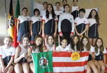 Natação do Fluvial Vilacondense em 5.º no Torneio Regional Infantil