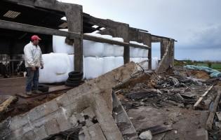 Tornado faz estragos na freguesia de Vila Chã em Vila do Conde