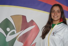 Ana Rita Oliveira presente no treino da Seleção Nacional de Karate