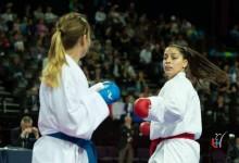 Rita Oliveira participou no Europeu de Karate Senior