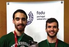 Luís Silva e Joaquim Mendes alcançam quadro de honra no Europeu de Karate Universitário