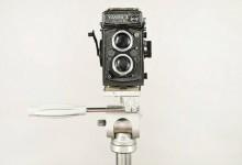 Máquina de fotógrafo de Vila do Conde exposta nos Paços do Concelho