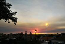 Vila do Conde coberta de fumo de incêndios