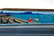 Vila do Conde tem parte da sua história em mural gigante