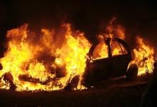 Capotamento e incêndio de viatura em Aveleda não causa feridos