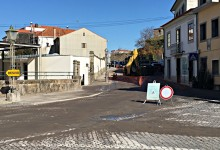 Mau tempo atrasa obras no centro de Vila do Conde