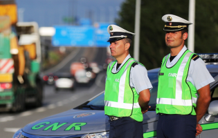 Operação Páscoa da GNR registou 708 acidentes e 4 mortos em 2017