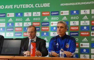 Luís Castro já não é treinador do Rio Ave