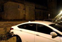 Carros assaltados e vandalizados atrás da Igreja Matriz de Vila do Conde