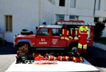 Emigrante Manuel Azevedo doa material aos Bombeiros de Vila do Conde
