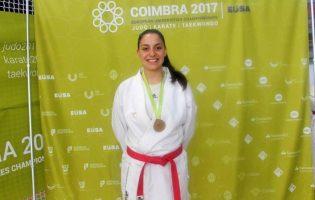 Ana Rita Oliveira é a nova Campeã Europeia de Karate Universitário