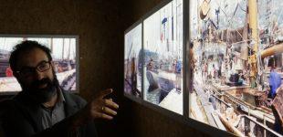 Bind'ó Peixe inaugurou exposição de fotografia sobre pesca do bacalhau nas Caxinas