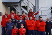 Bombeiros de Vila do Conde ajudam no reforço de água da albufeira de Fagilde em Viseu
