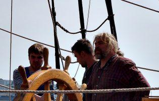 Fragata russa Shtandart regressa a Vila do Conde