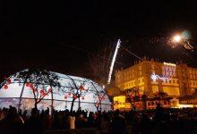 O Natal chega a Vila do Conde com neve