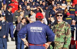 Voluntários dos Bombeiros de Vila do Conde regressam ao ativo
