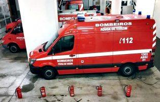 Homem furta ambulância na Póvoa de Varzim e é detido em Vila do Conde