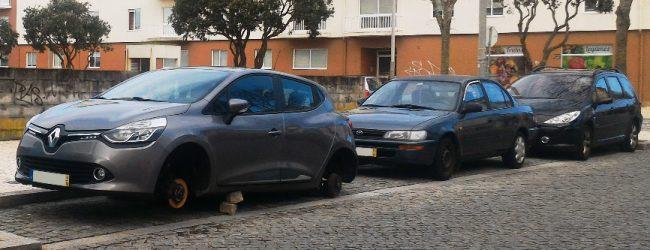 Mais de 20 carros furtados esta semana em Vila do Conde