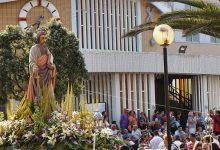 Fogo de artifício em honra de Nosso Senhor dos Navegantes para ver hoje nas Caxinas