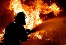 Ecoponto ardeu durante esta noite nas Caxinas em Vila do Conde