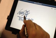 MyScript Calculator é a aplicação que faz as contas que escreve à mão
