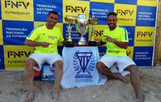 Nelson Pereira e Miguel Pinheiro vencem 8.ª Etapa do Campeonato Nacional de Futevólei em Vila do Conde e sagram-se Campeões Nacionais em Albufeira