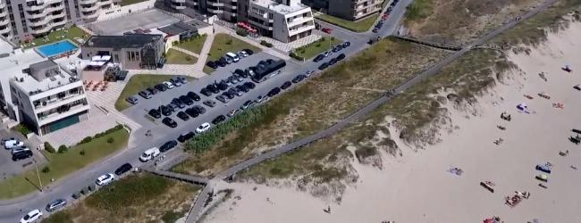 Praia de Mindelo Sul temporariamente interdita a banhos após descarga de águas residuais