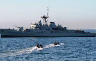 Pró-Maior Segurança dos Homens do Mar faz simulacro de salvamento marítimo nas Caxinas