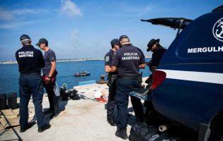 Armas e munições de guerra encontradas em praia fluvial de Vila do Conde