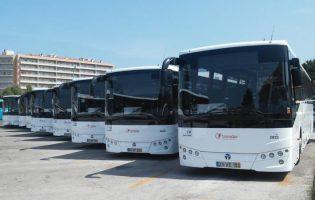 Trinta e cinco autocarros da Transdev vandalizados em Barcelos