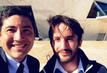 Todd Miyahira da Embaixada dos EUA em Portugal felicita vilacondense José Tiago Sousa