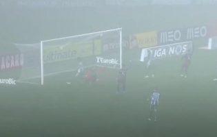 Rio Ave Futebol Clube e Moreirense empatam em Vila do Conde num jogo marcado pelo nevoeiro