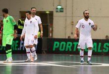 Portugal inicia apuramento para o Mundial de futsal na Póvoa de Varzim diante da Bielorrússia