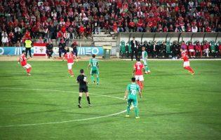 Rio Ave Futebol Clube desloca-se ao Sport Lisboa e Benfica para uma derrota por duas bolas