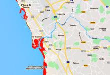 Vila do Conde e Póvoa de Varzim em risco de ficarem inundadas até 2050 segundo cientistas