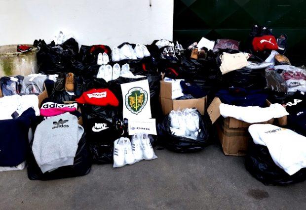 GNR apreende mais de oito mil artigos contrafeitos em Amarante e Póvoa de Varzim