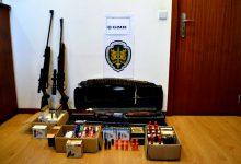GNR faz apreensão de armas de fogo por agressões e ameaças na Póvoa de Varzim