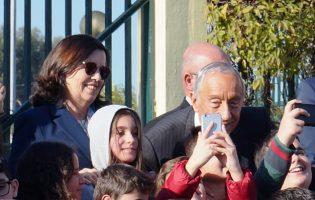 Presidente da República em Vila do Conde longe do encontro entre Pompeo e Netanyahu
