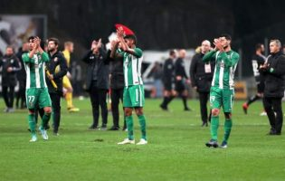 Rio Ave Futebol Clube desloca-se ao terreno do Sporting de Braga e perde por duas bolas