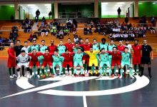 Seleção Portuguesa de Futsal completa na Póvoa de Varzim para a Ronda de Elite do Mundial 2020