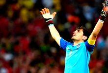 Iker Casillas deixa terreno de jogo de futebol com empate frente ao Rio Ave em Vila do Conde