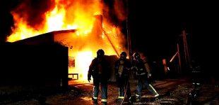 Incêndio em fábrica de painéis solares na Póvoa de Varzim destrói um terço da unidade fabril