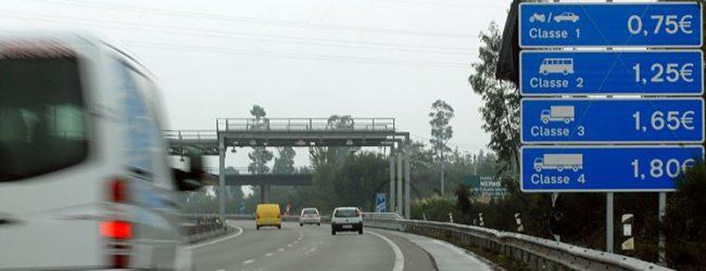 """""""Naturalmente Não às Portagens na A28"""" contra o aumento da portagem em Vila do Conde"""
